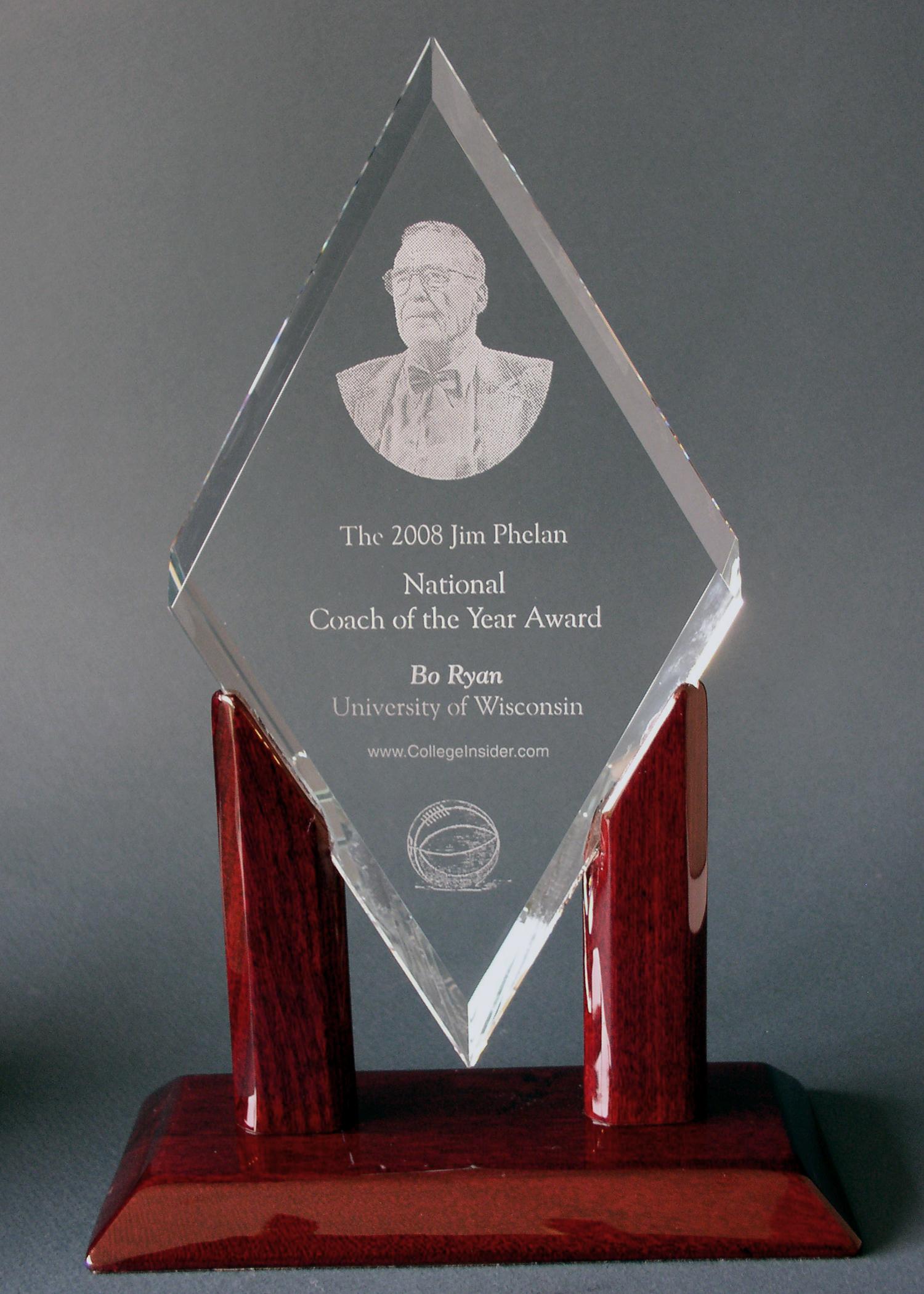 2008 jim phelan award bo ryan wisconsin